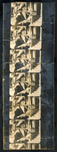 single filmstrip print from unknown film ca 1918