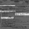 1937-01 death certificate Anna Wensorski Schulz info highlighted