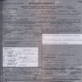 1929 Massachusetts death certificate Caroline Richter