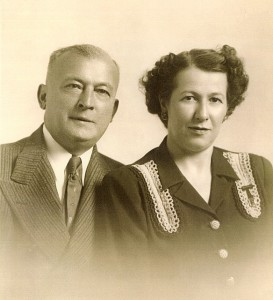 Harry and Henriette Weizenbaum in the 1940s