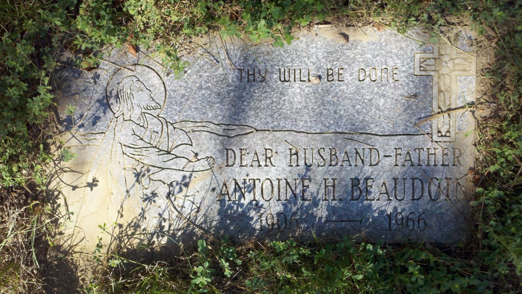 Dear Husband - Father, Antoine H. Beaudoin